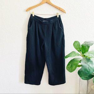 St John collection Black Knit Pants Size 8